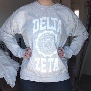Delta Zeta Crest Crewneck